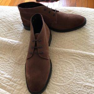 Stacy Adams men's sz 10 suede boots NWOT